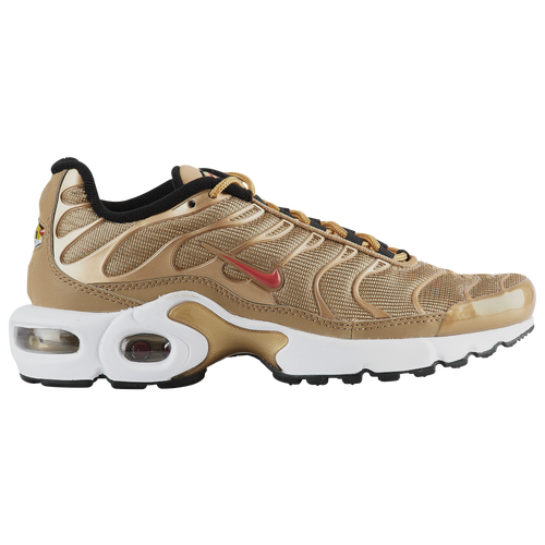 4e577d369f Nike Air Max Plus - Boys' Grade School - Casual - Shoes - Met  Gold/University Red/White