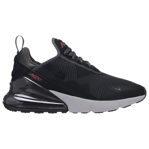 reputable site 5aa0e 44796 Nike Air Max 270 - Boys  Grade School - Nike - Casual - Black White Cool  Grey Met Silver