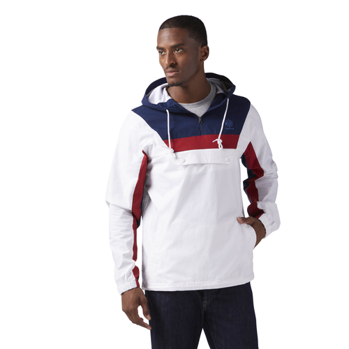 Reebok EF 1/2 Zip Anorak - Men's Casual - White R0573073