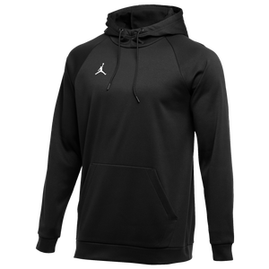 Jordan Team Alpha Therma Pullover Hoodie - Men's - Black/White