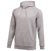 Jordan Team Alpha Therma Pullover Hoodie - Men's - Grey
