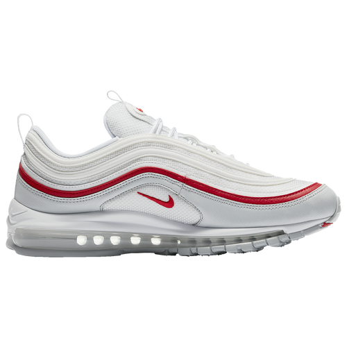 42fe3073ef Nike Air Max '97 - Men's - Casual - Shoes - Pure Platinum/White/University  Red