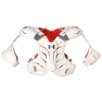 Under Armour Revenant Shoulder Pad - Men's - White / Red