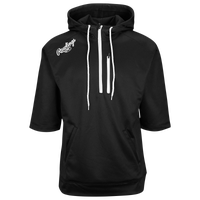 Rawlings Tokyo Short Sleeve Fleece Hoodie - Men's - Black / White