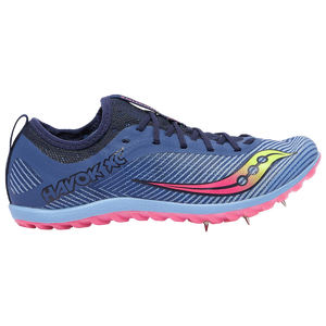 Saucony Havok XC2 Spike - Women's - Blue/Citron/Vizi Pink