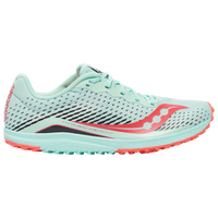 Saucony Kilkenny XC8 Flat - Women's - Light Blue / Red