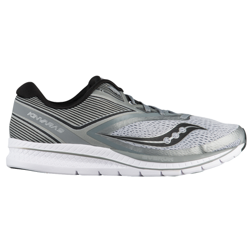 Saucony Kinvara 9 Running Sneaker(Men's) -Grey/Black/White Footlocker Pictures Cheap Online Sale Outlet Locations Outlet Reliable Outlet Locations Sale Online WpDrSPukt