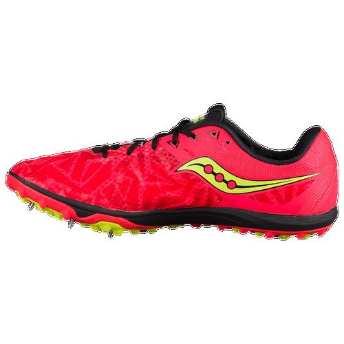 Saucony Havok XC Spike - Men's Track & Field - Vizi Red/Citron S290293