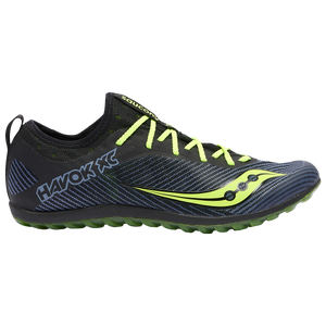 Saucony Havok XC2 Flat - Men's - Black/Citron