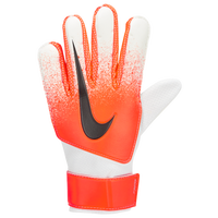 Nike Match Goalkeeper Gloves - Grade School - White / Orange
