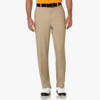 PGA Tour Expandable Waistband Golf Pants - Men's - Tan