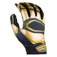 Cutters Rev Pro 3.0 Metallic Receiver Gloves - Men's - Black / Gold