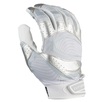 Cutters Rev Pro 3.0 Metallic Receiver Gloves - Men's - White / Silver