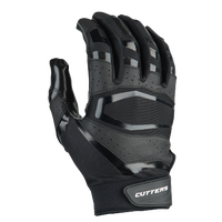 Cutters Rev Pro 3.0 Solid Receiver Gloves - Men's - Black / Black