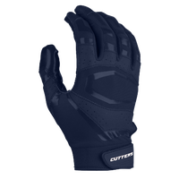 Cutters Rev Pro 3.0 Solid Receiver Gloves - Men's - Navy / Navy