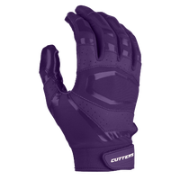 Cutters Rev Pro 3.0 Solid Receiver Gloves - Men's - Purple / Purple