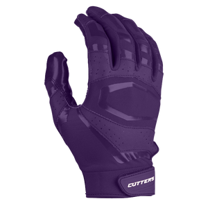 Cutters Rev Pro 3.0 Solid Receiver Gloves - Men's - Purple