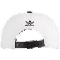 010ab5e6c83 adidas Originals Trefoil Chain Snapback - Men s - White   Black