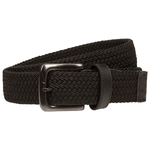 Nike Stretch Woven Golf Belt - Men's - Black