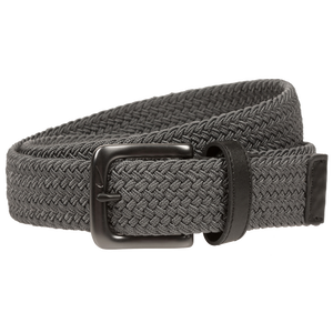 Nike Stretch Woven Golf Belt - Men's - Dark Grey