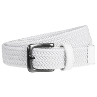 Nike Stretch Woven Golf Belt - Men's - White