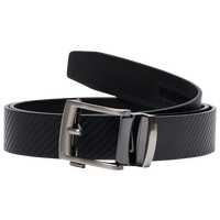 Nike Acufit Carbon Fiber Texture Belt - Men's - Black