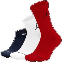 76e899f21c16 Jordan Jumpman Waterfall 3 Pack Socks - Black   White