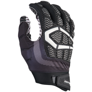 Cutters Gamer 3.0 Padded Football Gloves - Men's - Black