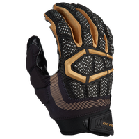 Cutters Gamer 3.0 Padded Football Gloves - Men's - Black / Gold