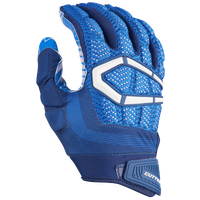 Cutters Gamer 3.0 Padded Football Gloves - Men's - Blue / White