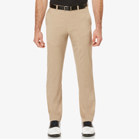 PGA Tour Big & Tall Active Waistband Golf Pants - Men's - Tan