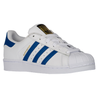 Womens White & Black Cheap Adidas Superstar Trainers schuh