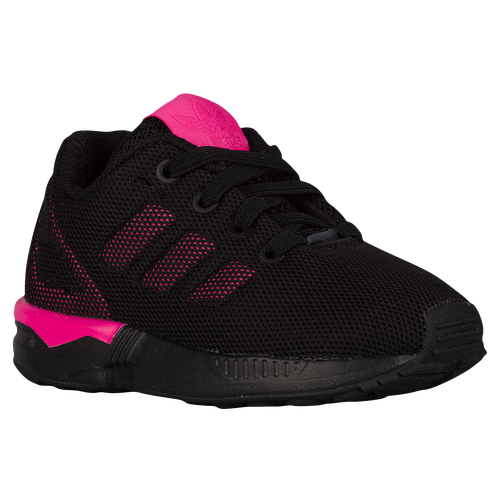 best value 351f1 98a64 adidas Originals ZX Flux - Boys  Toddler - Casual - Shoes -  Black Black Shock Pink