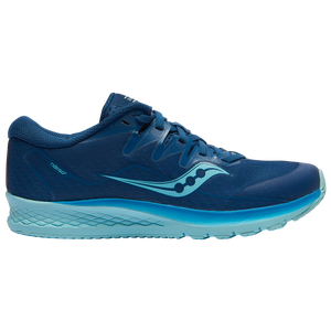 Saucony Ride ISO 2 - Girls' Grade School - Blue/Aqua