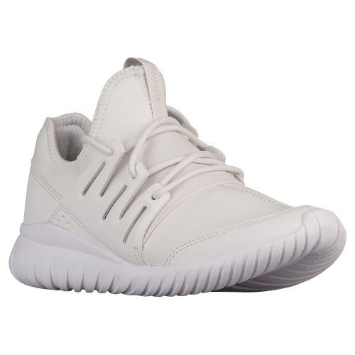 adidas Originals Tubular Radial - Boys' Grade School - Casual - Shoes -  Crystal White/Crystal White/White