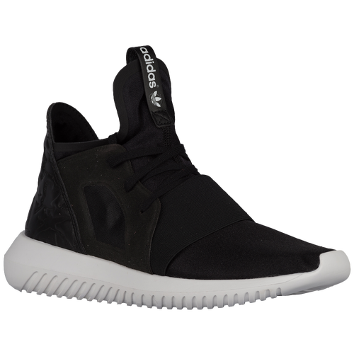 adidas Originals Tubular Defiant - Women's Casual - Black/Black/White S75257