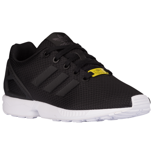 adidas Originals ZX Flux - Boys' Preschool - adidas Originals - Casual - Black/Black/Black