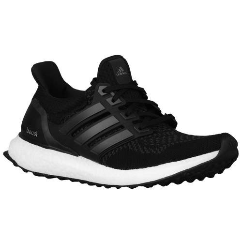 adidas Ultra Boost - Women\u0027s - Running - Shoes - Black/Black/Silver Metallic