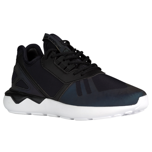 adidas Originals Tubular Runner - Boys' Grade School - Casual - Shoes -  Black/Black/White/Xenopeltis