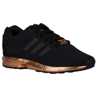 adidas zx flux black metallic copper