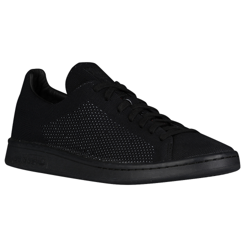 adidas Originals Stan Smith Primeknit - Men's - All Black / Black