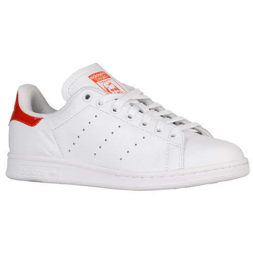 newest 71f57 91a5c adidas Originals Stan Smith - Womens - Casual - Shoes - WhiteOrangeWhite   Metallic