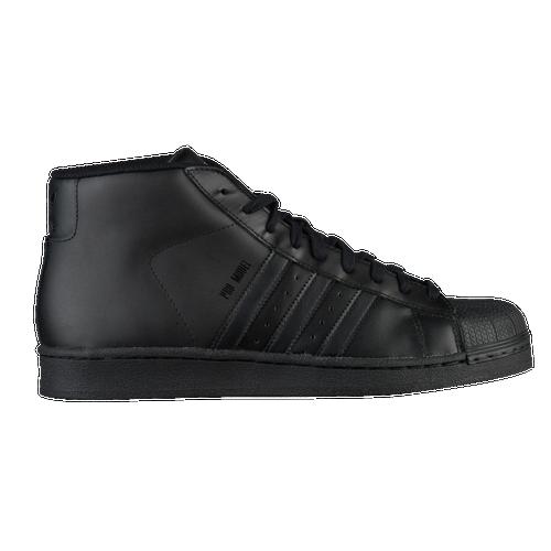 62af3d91de2 adidas Originals Pro Model - Men s - Casual - Shoes - Black White Gold  Metallic