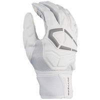Cutters Force 3.0 Lineman Football Gloves - Men's - White / Grey