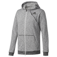 686016c8f4e adidas Cross-Up Full Zip Hoodie - Men's - Grey / Black