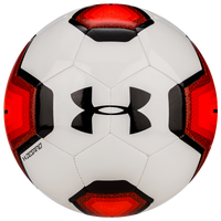 Under Armour Desafio 395 Soccer Ball - White / Red