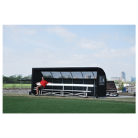Jaypro Soccer Shelter - All Black / Black