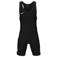Nike Grappler Elite Wrestling Singlet - Men's - Black / White