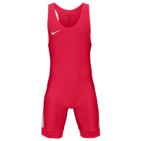 Nike Grappler Elite Wrestling Singlet - Men's - Red / White