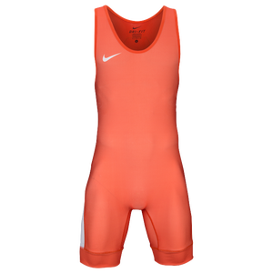 Nike Grappler Elite Wrestling Singlet - Men's - Orange